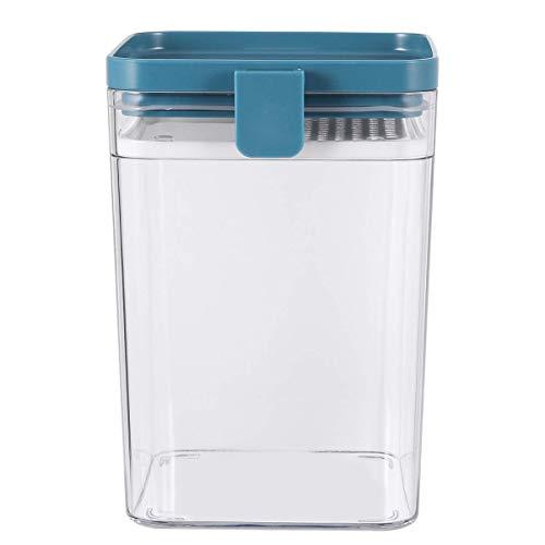 Frischhaltedose, 1000 ml, luftdicht, für Spaghetti, Müsli, Küche, Organizer, hält Lebensmittel trocken, blau