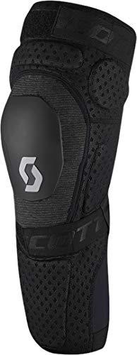 Scott Softcon Hybrid MX Motocross DH Knieprotektor schwarz 2021: Größe: L (38-41cm)