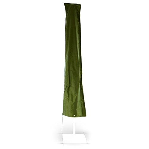 Schutzhülle aus robustem witterungsbeständigem Polyestergewebe mit Reißverschluss für Sonnenschirme Ø 4 m
