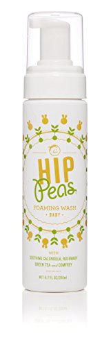 Hip-Peas Duschgel - Organisch, frei von Phthalat und Sulfat, gut geeignet für Babys, 1er Pack (1 x 200 ml)