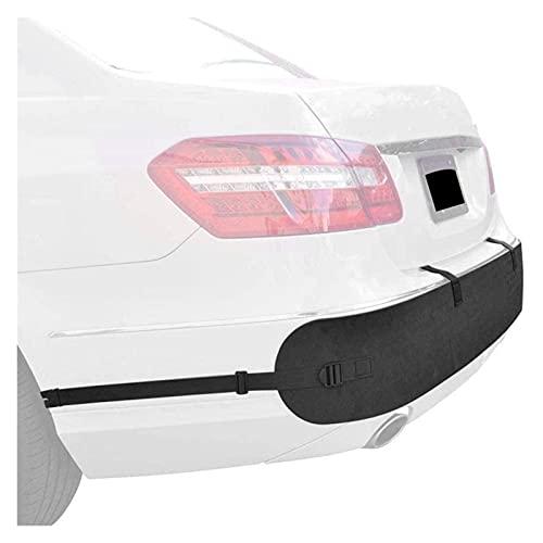 HUAZHUANG-Home Protector de Parachoques Universal, protección contra Parachoques Trasero para automóviles Cinturón Anti-colisión (Color : Black)