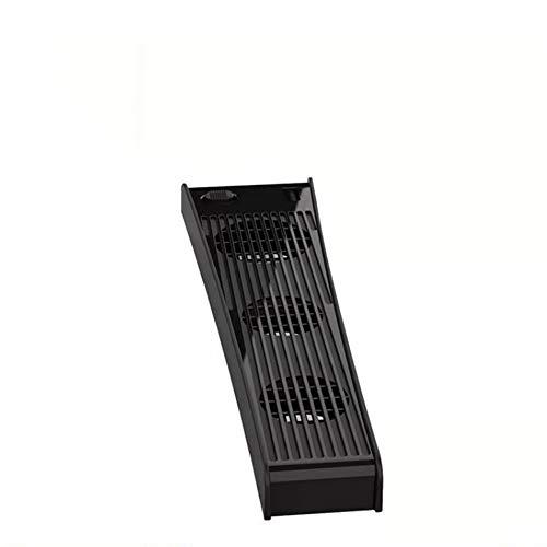 CHAW Ventiladores de Refrigeración para Accesorios PS-5 con USB Externo Enfriador de 3 Ventiladores Compatible con PS-5 Digital Edition/Ultra HD