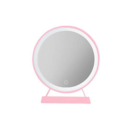 Bathroom mirror LS Espejo de Maquillaje Grande de Escritorio con luz led,...