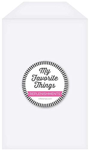 MY FAVORITE THINGS MFT STORAGE POCKETS CLEAR 25PK, 5.5'X8.5'