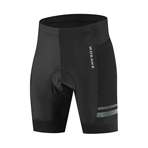 ZMMZZ Pantalones cortos de ciclismo para hombre MTB Road Bike Shorts Bicicletas Equitación Medias 3D Gel acolchado secado rápido medio pantalón, XXXL