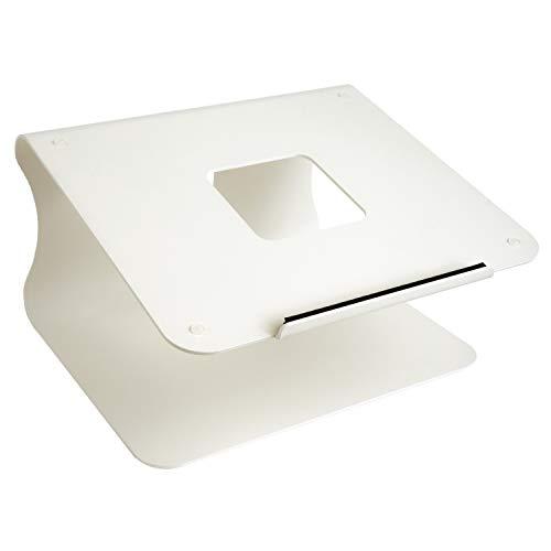 Supporto per Laptop, Supporto per Computer Portatile in Alluminio Regolabile, Laptop Staccabile Compatibile con MacBook Air PRO, dell XPS, HP, Lenovo Altro 10-15.9' Laptop-Spazio Grigio