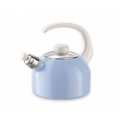 Riess Flöten-Wasserkessel Pastellblau