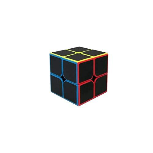 Cubo MF2 2x2 MoFang Jiaoshi Fibra de Carbono