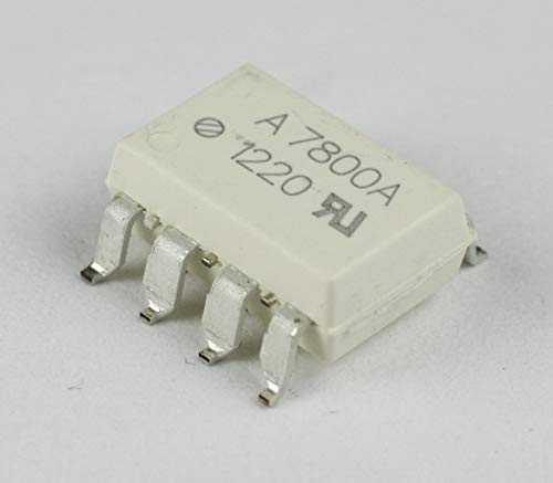 Avago Technologies HCPL-7800A-300E Isolation Amplifier Photo Coupler, 8 Pin SMD