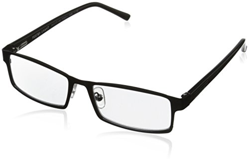 Foster Grant Sawyer Men's Multifocus Glasses, Black, 2