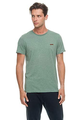 Ragwear Camiseta para hombre NEDIE 1912-15001, verde 5023 verde XXL