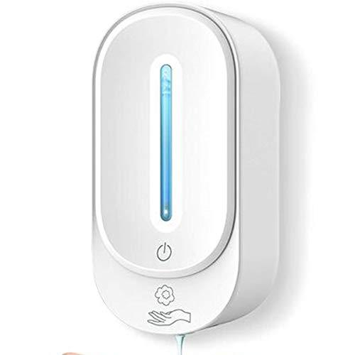Distributore di sapone automatico, 350 ml, dispenser per sapone da parete, dispenser gel senza contatto, incluso