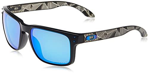 Oakley 0OO9102 Gafas de Sol, Matte Black Prizmatic, 57 para Hombre