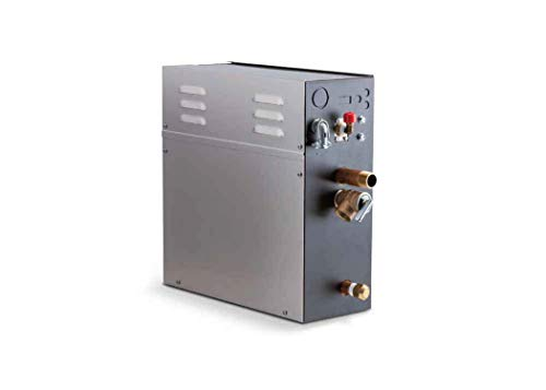 Buy 5 KW Steam Bath Generator Steamist SMP-5 with 250 Digital Time and Temperature Control and Steam...