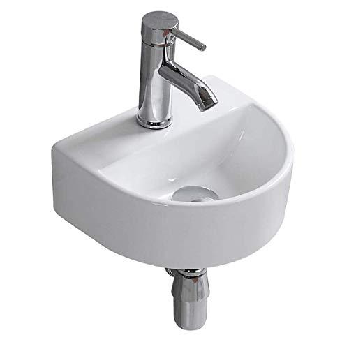 おしゃれ 洗面ボール 洗面ボウル 手洗い鉢 洗面台 洗面鉢 手洗い器 洗面器 洗面所 小型 ミニ型 シンプル トイレ (半円)