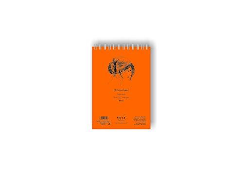 SMLT 5MIXB-40TS Authentic line A5 Skizzenblock, 200 gsm Mixed media Papier, 40 Blatt