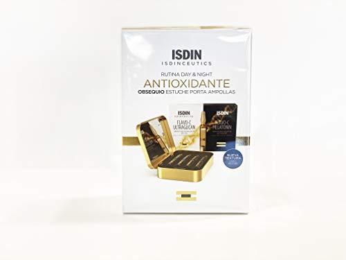 ISDINCEUTICS Pack Rutina día y noche ANTIOXIDANTE + Porta Ampollas