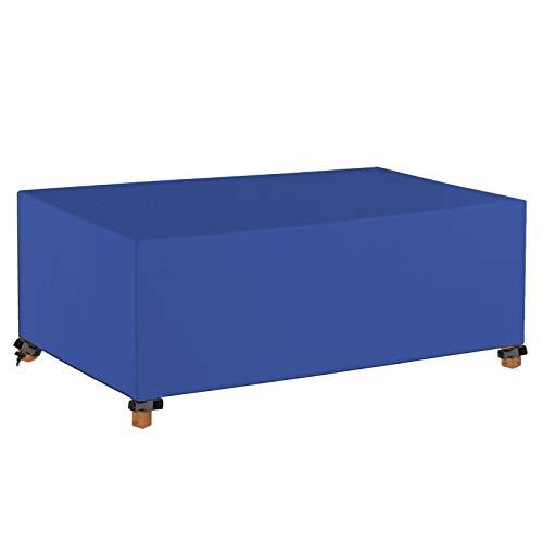 GAOQIANGFENG Funda para Muebles de Jardín, Cubierta de Muebles Impermeable Resistente al Polvo Anti-UV 420D Oxford Protección Exterior Muebles de Jardín Cubiertas de Mesa y Silla