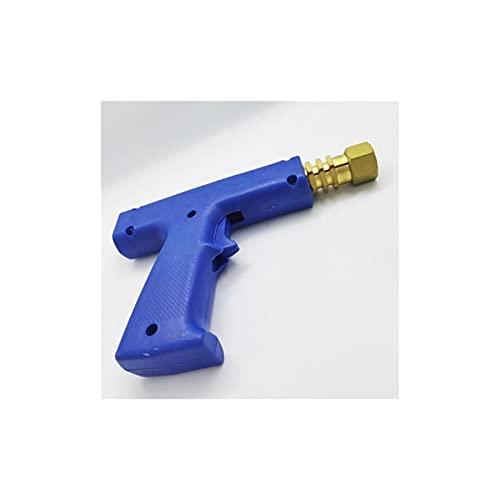 SongZ Store Pistola de soldadura de punto azul con accesorios de bloqueo de electrodo de bloqueo de latón Ajuste para reparación de carrocería para automóvil Herramientas manuales Dent Soldder Puller