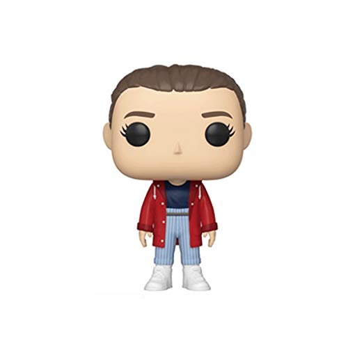 Funko Pop Television : Stranger Things – Eleven#827 (Exclusive) 3.75inch Vinyl Gift for Horror Television Fans SuperCollection