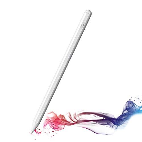 Stylus Pen P3 Pro Universale - Colore Bianco - Magnetica - Compatibile con ioS, Android e Windows - Incluse 2 Punte di Ricambio