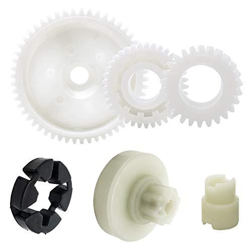 Power Window Lift Regulator Motor Gear Repair Kit Set Replacement Compatible with Mazda 3 Sport 5 6 CX-7 CX-9 RX-8 (1 Set - 6 Pcs)