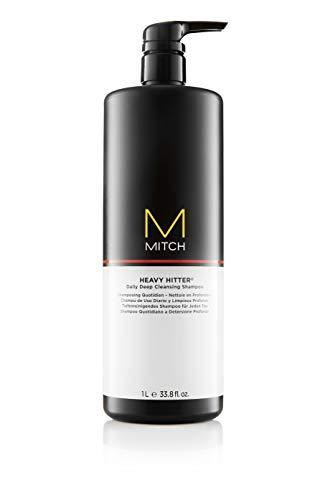 Paul Mitchell MITCH Heavy Hitter Deep Cleansing Shampoo - tiefenreinigendes Pflege-Shampoo für Männer, Removing Shampoo für die tägliche Haar-Pflege, 1000 ml