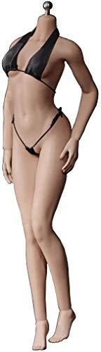 ZSMD Figura de acción 1/6 escala femenina sin costuras, cuerpo de muñeca con esqueleto de acero inoxidable, PLMB2016-S17B