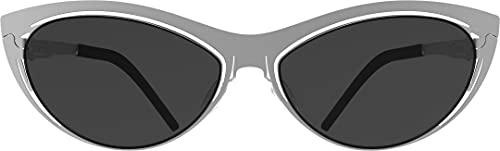 Lunithe - Águila SF: Made in Francia, edición limitada, alta gama, diseñadores independientes, innovación, ecológico, forma de ojo de gato, mediano, Boxing 55 - 18