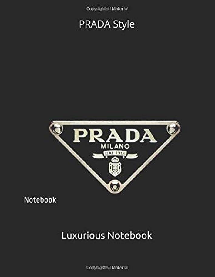 くつろぎシャックル告白PRADA Style: Notebook