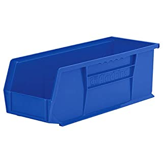 Akro-Mils 30234 Plastic Storage Stacking Hanging Akro Bin, 15-Inch by 5-Inch by 5-Inch, Blue, 12-Pack (B000Z58BQU) | Amazon price tracker / tracking, Amazon price history charts, Amazon price watches, Amazon price drop alerts