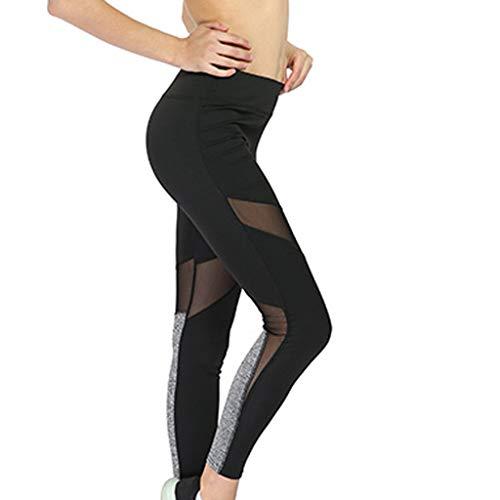 Damen Yoga Arbeiten Normallack Gamaschen Der Hohen Taille Feste Sport beiläufige Frauen Hosen