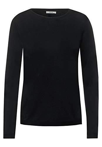 Cecil Damen 301262 Pullover, Black, S