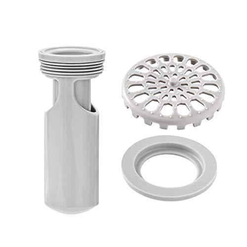 Dispositivo di Scarico Facile da Installare,Per lo Scarico del Pavimento,Protezione di Scarico per Tubi in Bagno, Bagno, WC, Pavimento, Tenuta Resistente Agli Odori e Agli Insetti(95 mm)