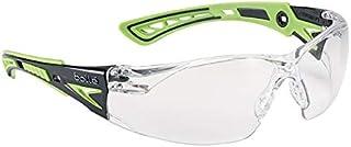 c6bd871f61 Bollé Rushppsig Rush + – Gafas de seguridad, talla única, color negro y  verde