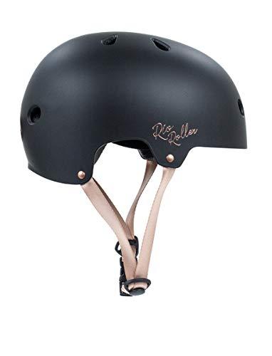 Rio Roller Rose Helmet Skateboard-Helm, Unisex, Erwachsene, Schwarz (Black), 49-52 cm