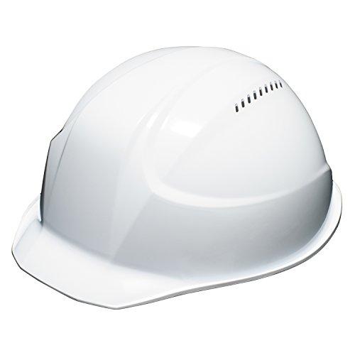 DICプラスチック 超軽量ヘルメット 軽神/KEIJIN 通気孔付 白 AA17-V-HA5E-K17-WH
