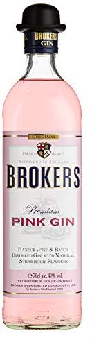 Brokers Gin Pink Gin Erdbeer-Aromen (1 x 0.7 l)