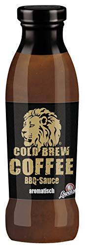 LÖWENSENF – Cold Brew Coffee BBQ Sauce – 230 ml Glasflasche – aromatische Barbecue-Sauce