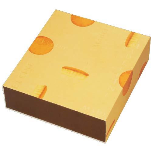 株式会社東光 PAOTOKO マドレーヌ箱 10個 100個 焼き菓子用 マドレーヌ 箱 パッケージ ラッピング トータルパッケージ 手作り 包装 持ち歩き 贈答品 土産 プレゼント ギフト RC830275