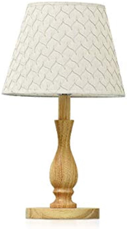 Solid Wood Table Lamp Nordic Bedroom Headlamp Study Lamp