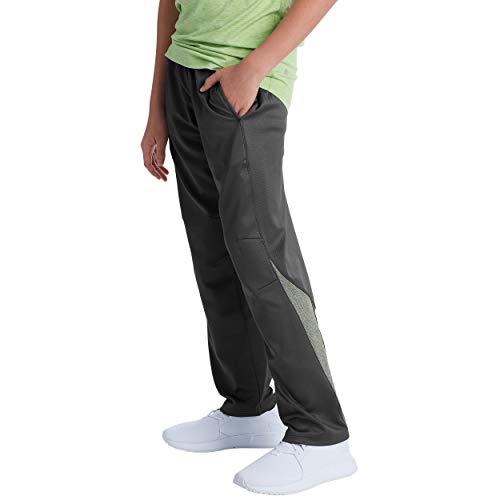 C9 Champion Boys' Open Leg Athletic Pants, New Charcoal, M