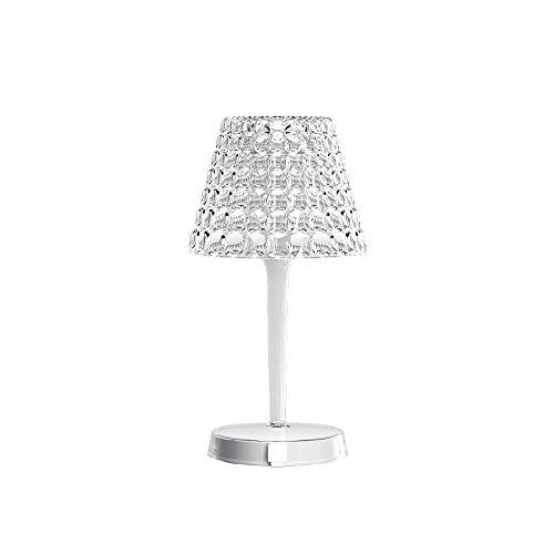 Guzzini Tiffany Lighting Lampada da Tavolo senza Fili Ø 13 cm x H 25 cm