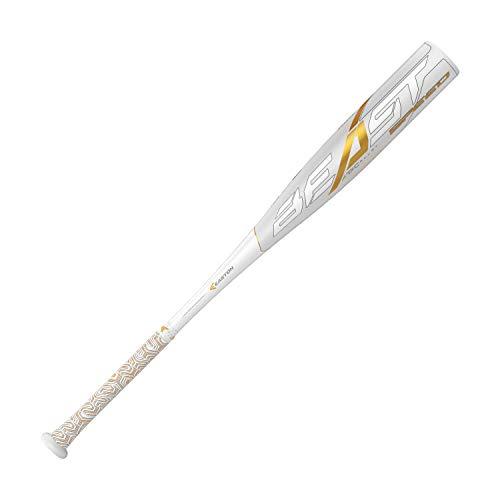 "Easton Beast Speed -10 (2 5/8"") USSSA Senior League Baseball Bat | 32 inch / 22 oz | 2019 | 1 Piece Aluminum | ATAC Alloy | Speed End Cap | Lizard Skin Grip, Multi (8065615)"