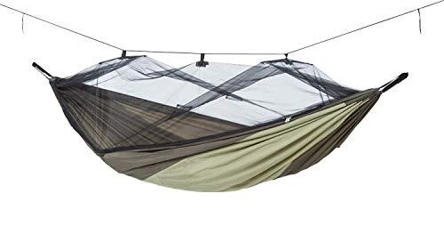 AMAZONAS Ultra-Light Hängematte Moskito Traveller Thermo 650g 275cm x 140cm bis 200kg