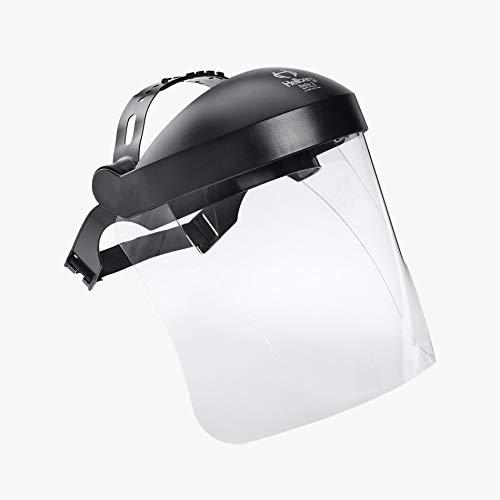 HELLBERG SAFETY Schutzvisier Safe 3, 65100-001, Gesichtsschutz mit Visier aus Polycarbonat