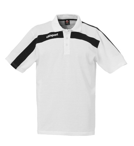uhlsport Polo Shirt Liga, weiß/schwarz, XXL, 100208604