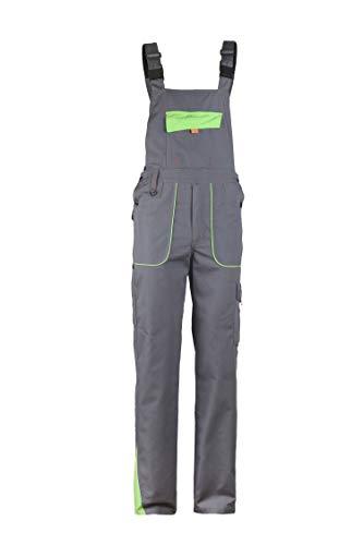 Stenso Prisma - Herren Arbeitslatzhose Grau/Grün EU60