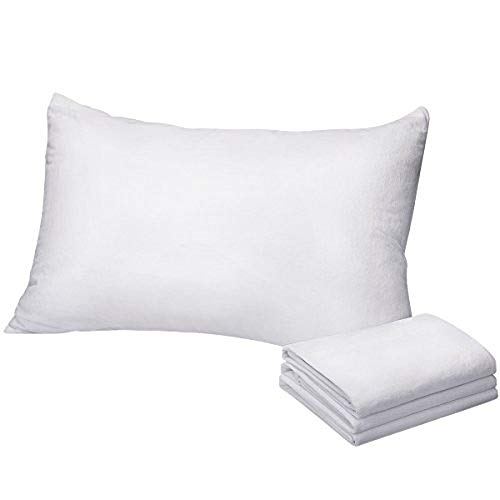 COMFORTNIGHTS Terry toweling waterproof bed set, Mattress protector, pillow protector and duvet protector. King size.