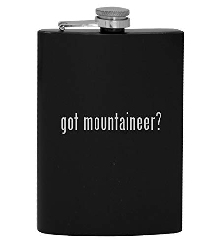got mountaineer? - 8oz Hip Drinking Alcohol Flask